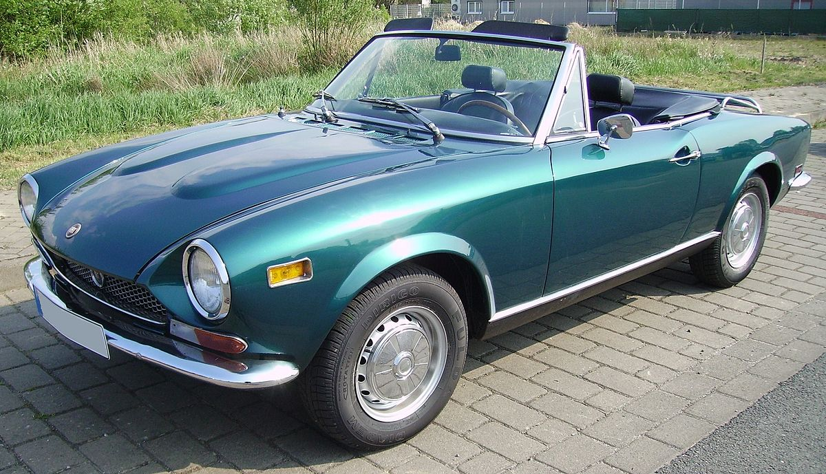 Fiat 124 Sport Spider - Wikipedia Universal Car Wiring Harness Fiat Spider on