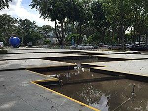 Fibonacci numbers in popular culture - Image: Fibonacci Terrace, Science Centre Singapore 20151121