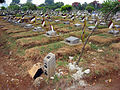 Fighters of Indonesian Revolution buried at Karet Bivak Cemetery.jpg