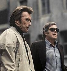 Clint Eastwood sul set di Assassinio sull'Eiger (1975)