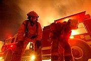 Pompiers américains en Iraq