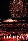 Fireworks at the closing ceremonies of the 1988 Summer Games.JPEG