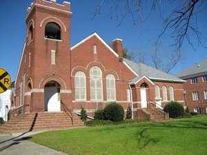 National Register of Historic Places listings in Martin County, North Carolina - Image: First Christian Church