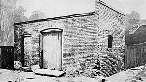 History of Ford Motor Company - The coal shed on Bagley Street, Detroit where Henry Ford built his first car in 1896.