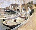 渔船在告士打道约翰Twachtman 1901.jpeg