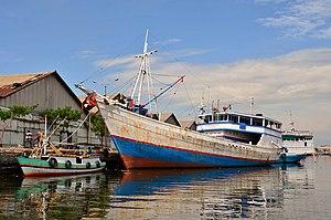 Probolinggo - Fishing boat at Probolinggo