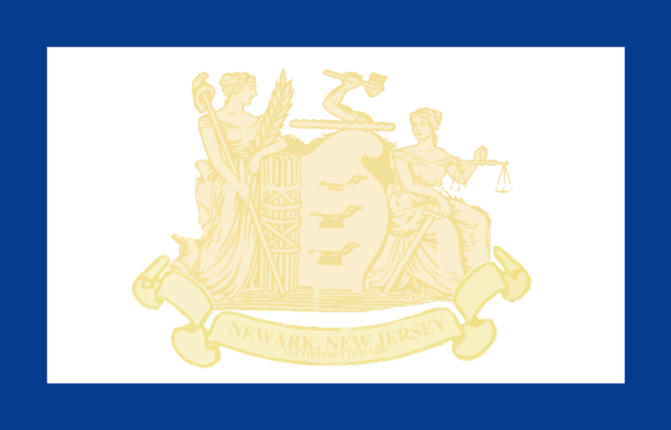 Flag of Newark, New Jersey