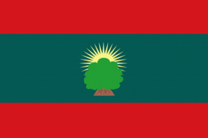 Oromo conflict - Image: Flag of the Islamic Front for the Liberation of Oromia