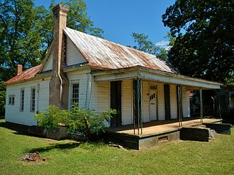 Fletcher Henderson - Built by his father in 1888, the Fletcher Henderson House in Cuthbert, Georgia, where Henderson was born in 1897. The house was added to the National Register of Historic Places on June 17, 1982