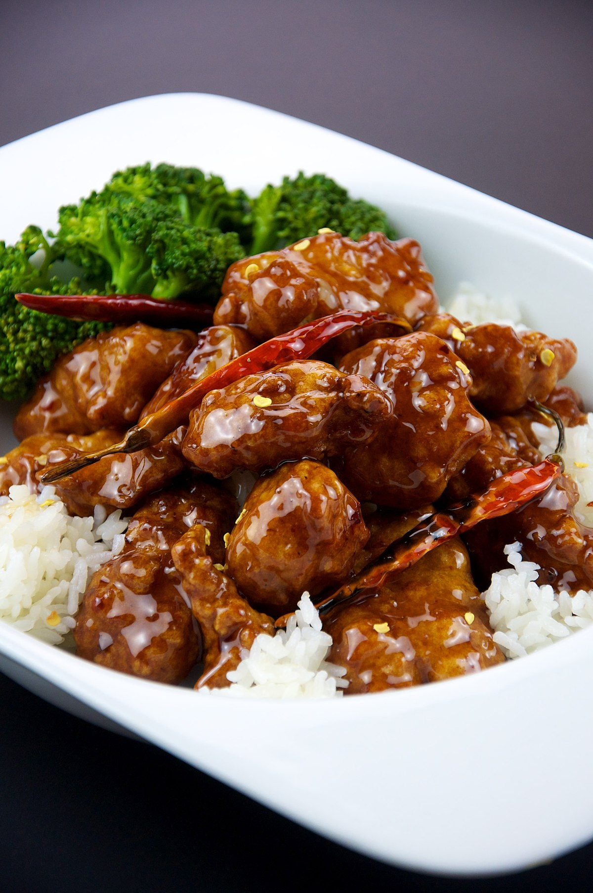 General Tso's chicken - Wiktionary