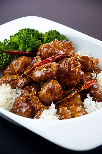 Chinese cooking techniques - Image: Flickr preppybyday 4665999863 General Tso's Chicken