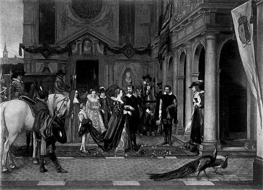 Florent Willems - Marie de Medicis et Rubens
