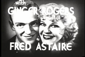 Fred Astaire - Promotional photo with Ginger Rogers