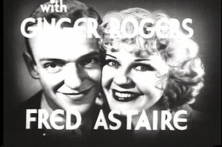 Fred Astaire and Ginger Rogers Hollywood double act
