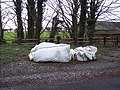 Flytipping on Howgare Road - geograph.org.uk - 315021.jpg