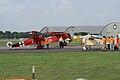 Fokkers Dr.I VII VIII and Nieuport 11 C1 Dawn Patrol NMUSAF 26Sept09 (14599277692).jpg
