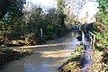 Folkingham Ford in Flood (geograph 3238737).jpg