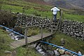 Footbridge and Stile above Side House Langdale - geograph.org.uk - 1570384.jpg