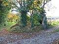 Footpath junction, Bowerchalke - geograph.org.uk - 1010840.jpg