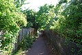 Footpath parallel to the railway, Whitstable - geograph.org.uk - 1475271.jpg