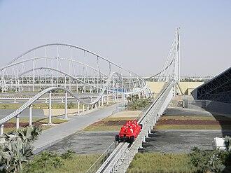 Ferrari World Abu Dhabi - Formula Rossa, the world's fastest coaster