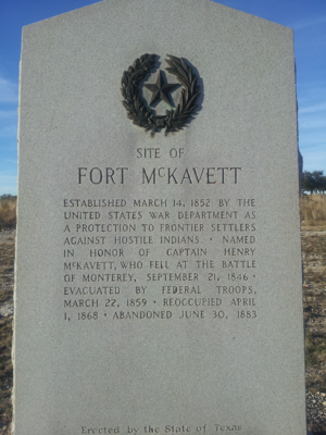 Fort McKavett State Historic Site - Image: Fort Mckavett 3
