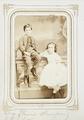 Fotografiporträtt på syskonen Seth och Bertha Kempe, 1860-tal - Hallwylska museet - 107837.tif