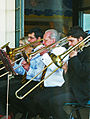 Four trombones - Festival of the Winds 2010.jpg