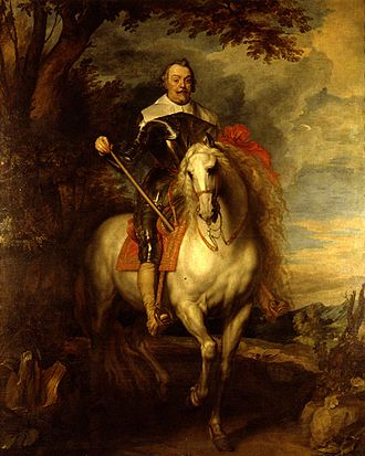 Charles I with M. de St Antoine - Image: Francesc de Montcada i Montcada 3er Marques d'Aitona