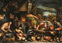 Francesco Bassano the Younger - The Forge of Vulcan - WGA01423.jpg