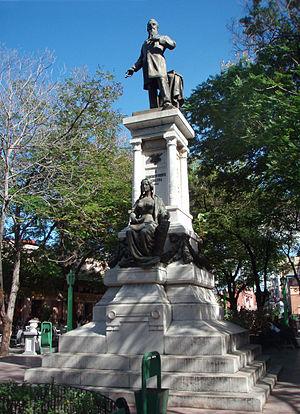 Francisco Vicente Aguilera - Monument of Francisco Vicente Aguilera on Dolores square in Santiago de Cuba