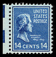 Pierce postage stamp