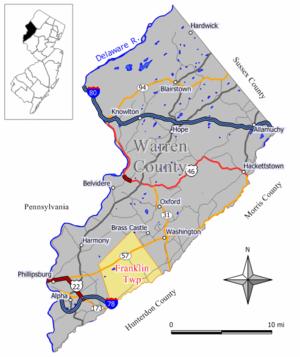Franklin Township, Warren County, New Jersey - Image: Franklin twp nj
