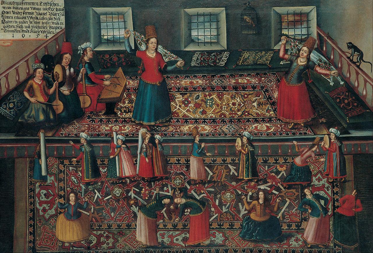 Франц Германн, Ханс Геммингер, Валентин Мюллер - Сцена из турецкого гарема - Google Art Project.jpg