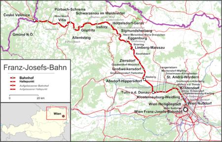 Franz Josefs Bahn österreich Wikipedia
