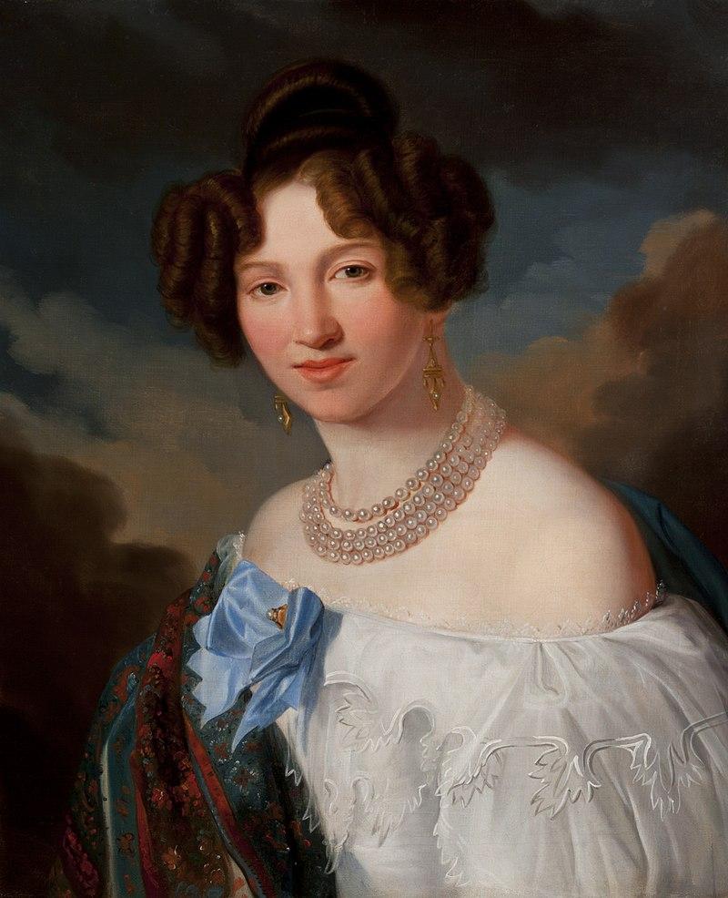 Franz Xaver Lampi - Portrait of Sydonia Henoch née Roller (Copy^) - MNK II-a-1297 - National Museum Kraków.jpg