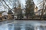 Frauenstein Schloss Frauenstein Nord-Ansicht mit Schlossteich 14122016 5665.jpg