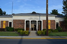 Fred J White Municipal Building Portland Tennessee 2012.jpg