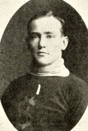 Fred Povey - Povey with the Pittsburgh Bankers.