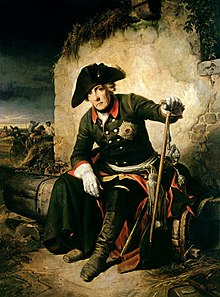 Frederick after the Battle of Kolin, by Julius Schrader (Source: Wikimedia)