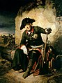 Frederick the Great after the Battle of Kolin by Julius Schrader.jpg