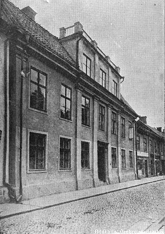 Treaty of Orebro - The building in Örebro where the treaties were signed in 1812