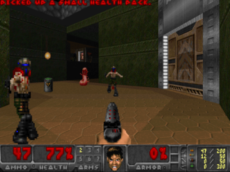 Doom WAD - Screenshot from Freedoom