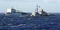 French Ship Jean Bart with RFA Mounts Bay MOD 45154599.jpg