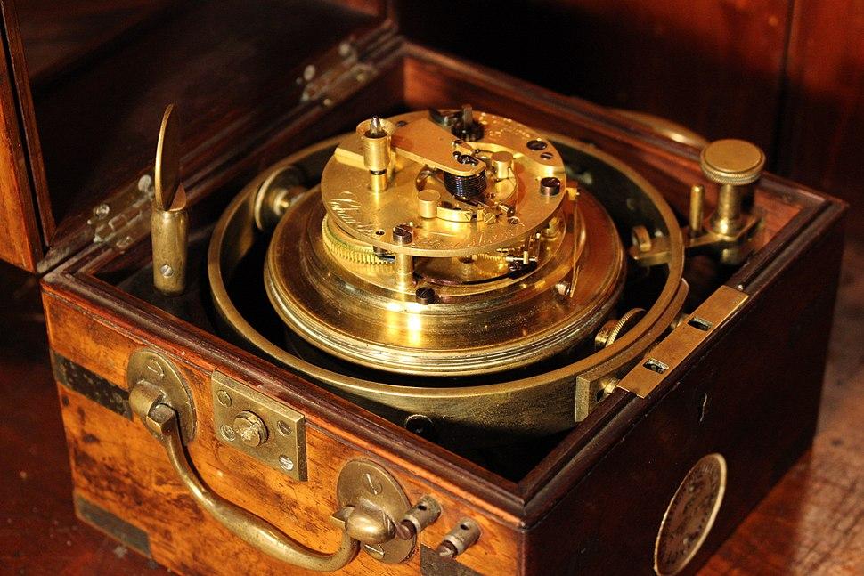 Frodsham chronometer mechanism