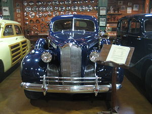 Packard auto on display at Fort Lauderdale Ant...