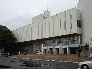 Fukushima Prefectural Culture Center building in Fukushima Prefecture, Japan