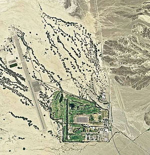 Furnace Creek Airport - 2006 USGS airphoto