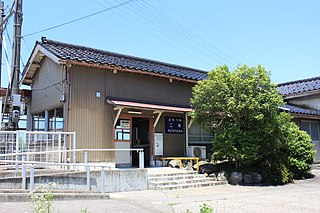 Futatsuka Station Railway station in Takaoka, Toyama Prefecture, Japan