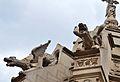 Gàrgoles d'un panteó del cementeri general, València.JPG